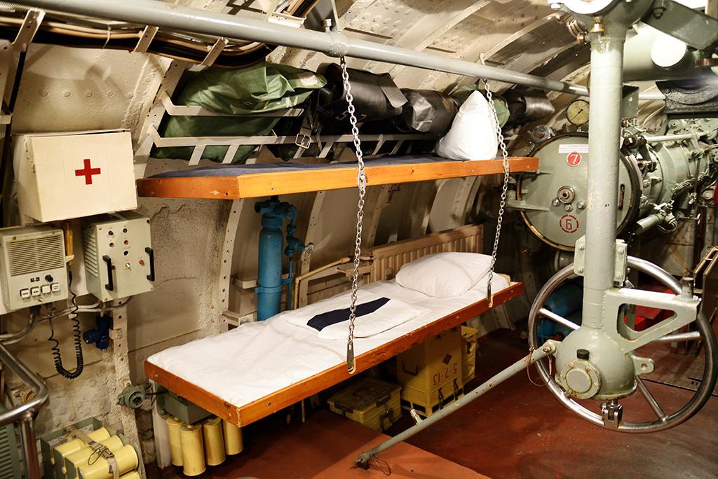 кормовой отсек подводной лодки