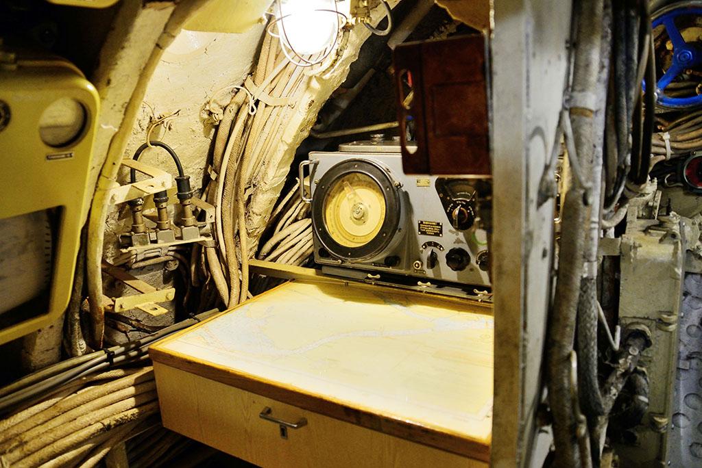 штурман на подводной лодке